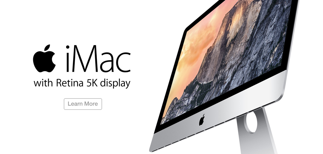iMac with 5k Resolution