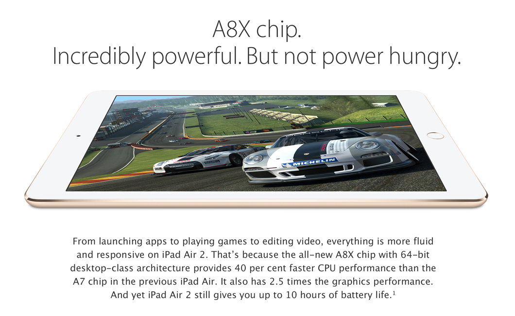 iPad Air 2 A8X Chip